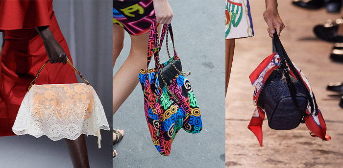 Scarf inspired handbags | 40plusstyle.com