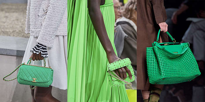 green handbags for summer 2020 | 40plusstyle.com