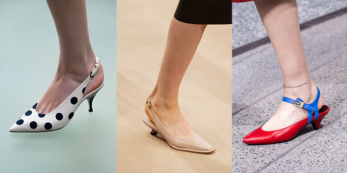 kitten heels for women over 40 are part of the summer shoe trends | 40plusstyle.com