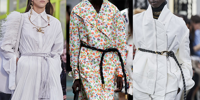 rope belts are among the summer trends | 40plusstyle.com