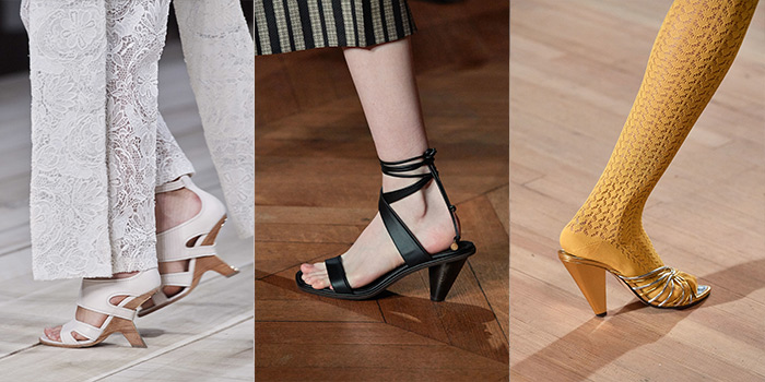 slanted heels are a shoe trend for 2020 | 40plusstyle.com