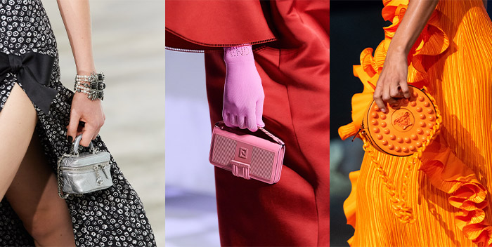 Tiny bags on the runways | 40plusstyle.com