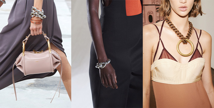Jewelry trends 2021 - chains   40plusstyle.com