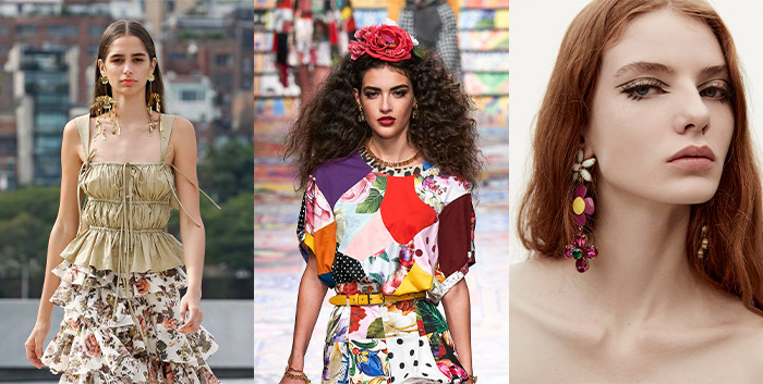 Flowers in the accessory trends for spring   40plusstyle.com