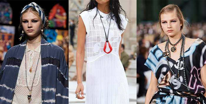 Jewelry trends 2021 - long necklaces   40plusstyle.com