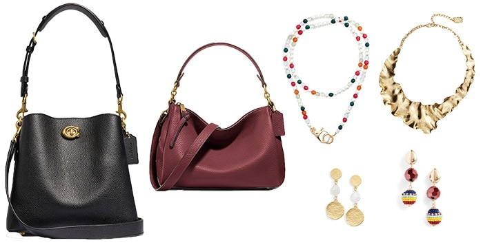 Accessories to use with tunics and short dresses | 40plusstyle.com