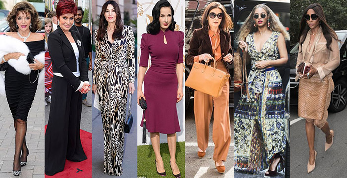 Celebrities with glamorous style personalities | 40plusstyle.com