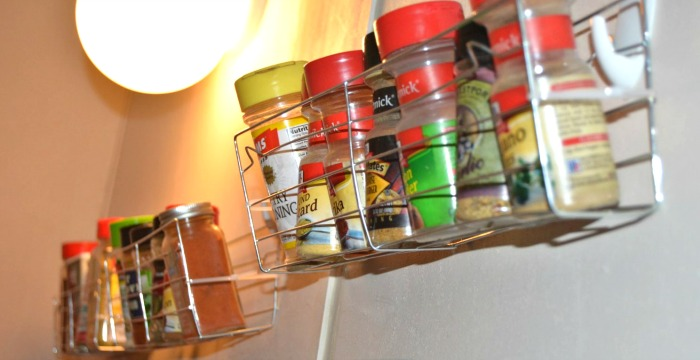 DIY Dollar Tree Spice Rack Under $1!