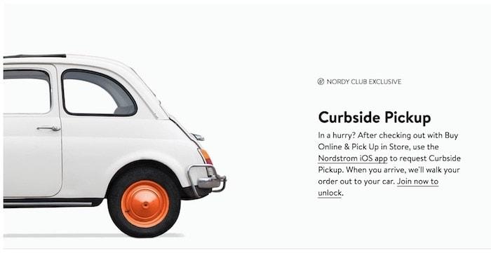 Nordy Club Curbside Pickup