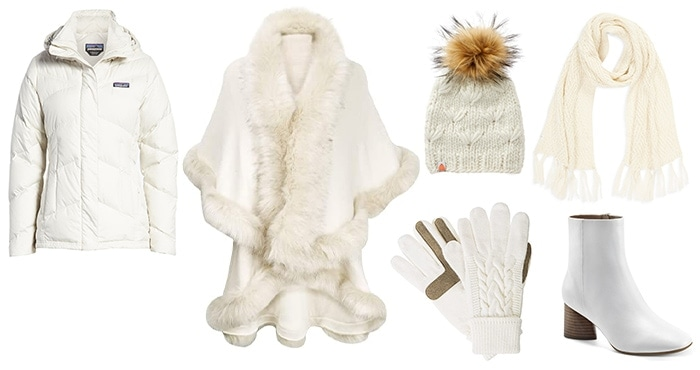 How to look fashionable in winter: white outfits for labor day and winter | 40plusstyle.com