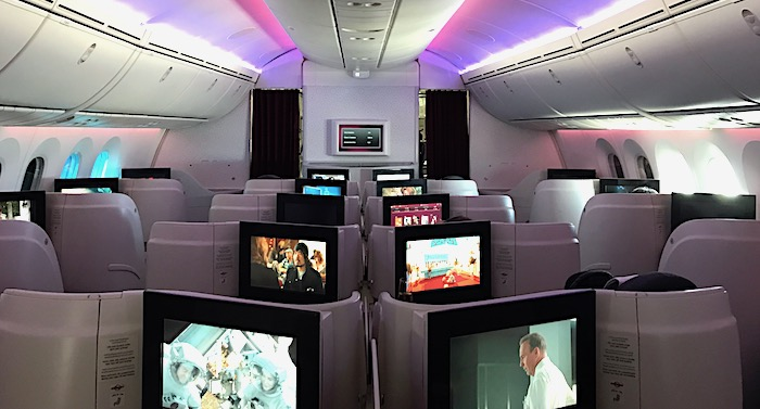 カタール航空のビジネスクラス