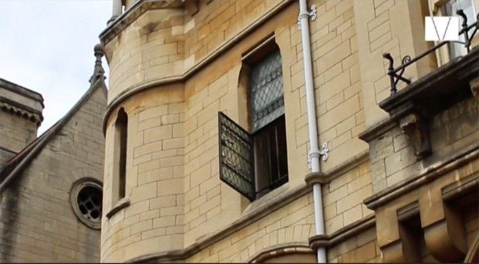 fachada de predio em oxford