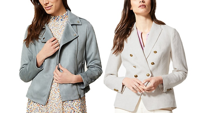 Marks and Spencer jackets and blazers | 40plusstyle.com