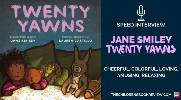 Jane Smiley, Author of Twenty Yawns | Speed Interview