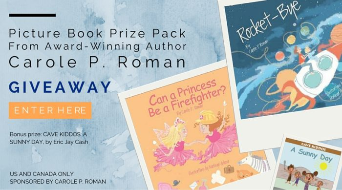 Picture Book Prize Pack From Award-Winning Author Carole P. Roman - Book Giveaway