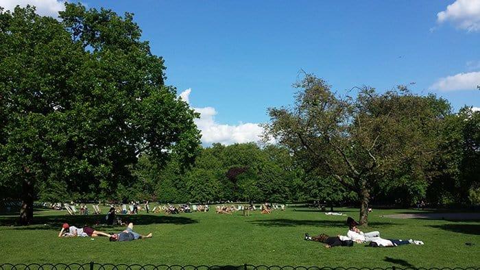 Parque St James em Londres