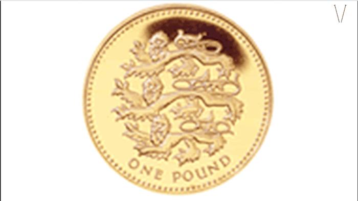 moedas da inglaterra
