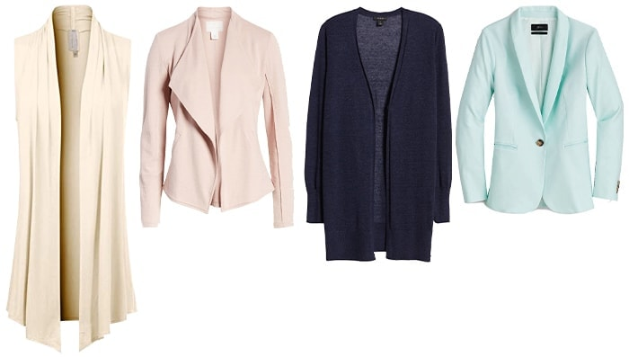 cardigans and coats for petites | 40plusstyle.com