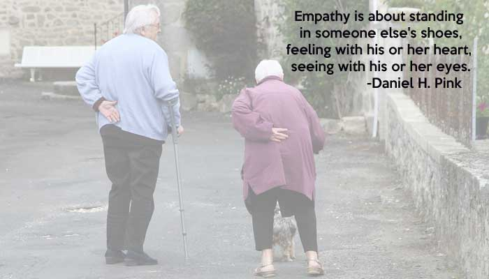 Empathy: pass it on!