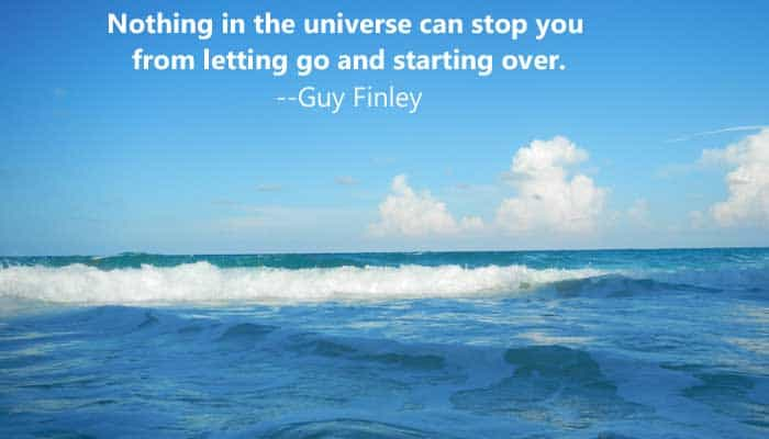 nothing can stop you from starting over