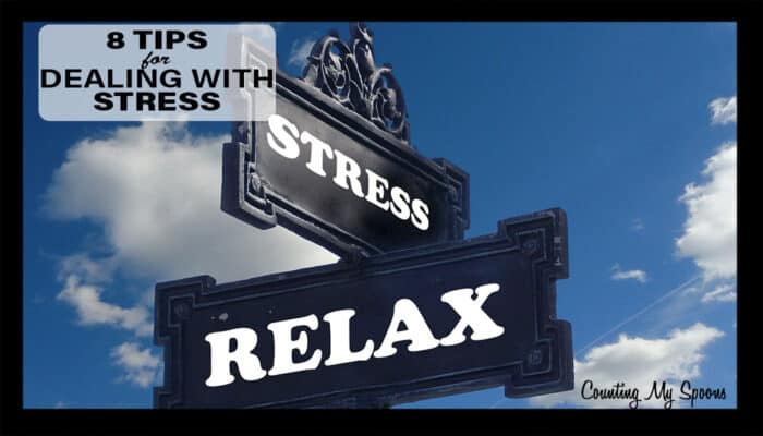 8 tips for dealing with stress