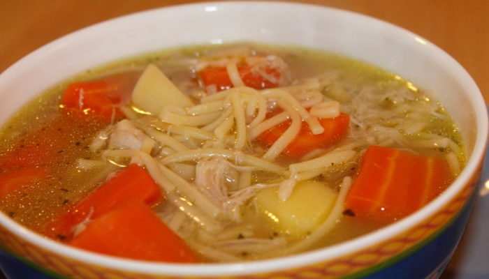 https://www.allrecipes.com/recipe/26460/quick-and-easy-chicken-noodle-soup/
