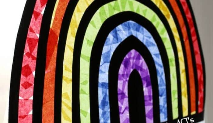 Stained Glass Rainbow