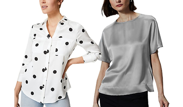 Marks and Spencer tops | 40plusstyle.com