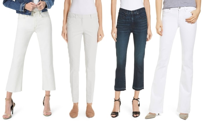 Pants for rectangle body shape | fashion over 40 | style | fashion | 40plusstyle.com