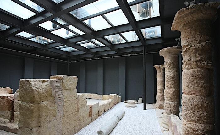 ローマ時代の遺跡画像
