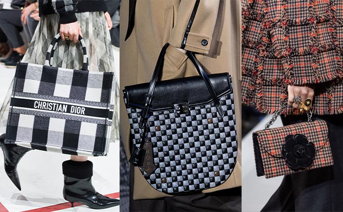 Check patterned bags | 40plusstyle.com