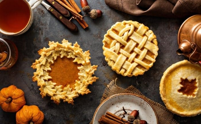 fall pies