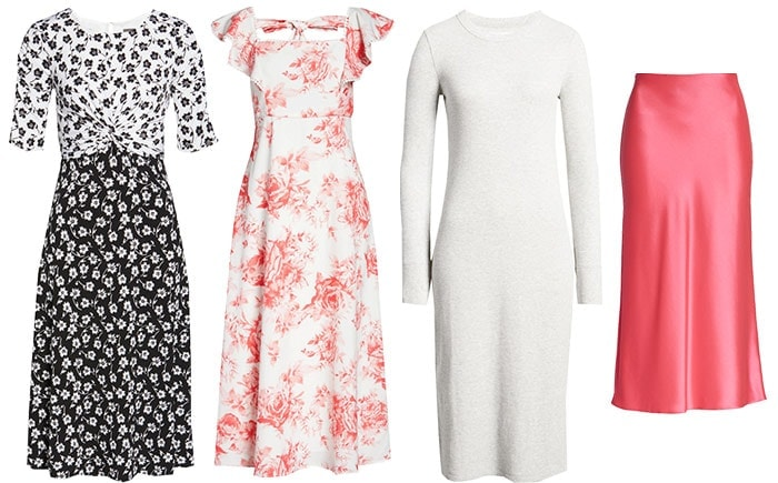dresses and skirts for the romantic style personality | 40plusstyle.com