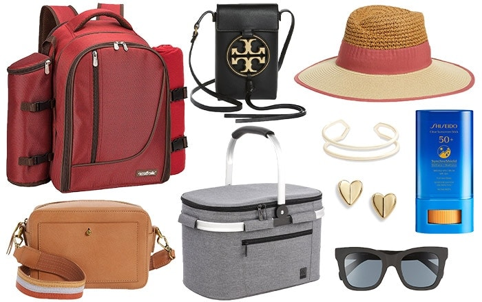 Accessories to wear to a picnic | 40plusstyle.com