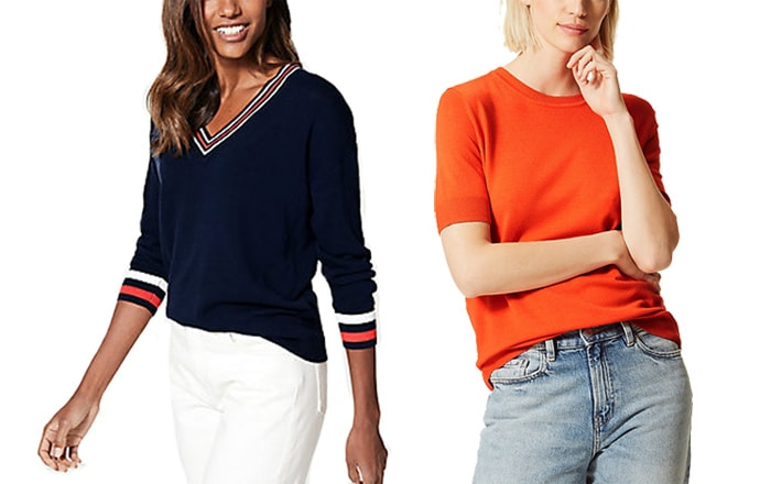 Marks and Spencer sweaters | 40plusstyle.com