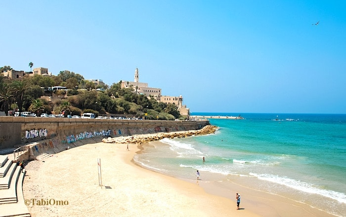 テルアビブのビーチの画像