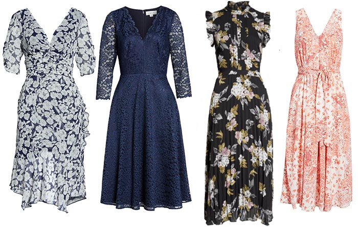 dresses for the romantic style personality | 40plusstyle.com