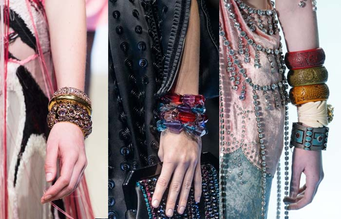 Bangles - Layering necklaces and accessories | 40plusstyle.com