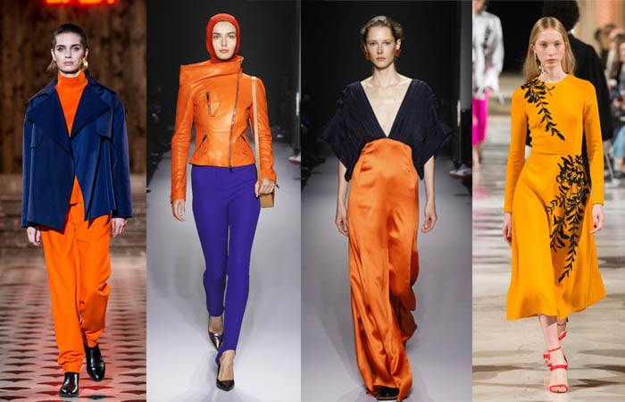Orange - The color trends you need to know for Fall 2018 | 40plusstyle.com