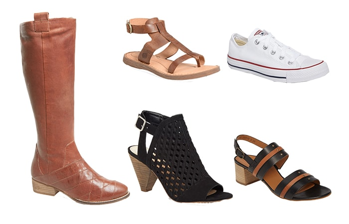 Shoes and boots for the natural style personality | 40plusstyle.com