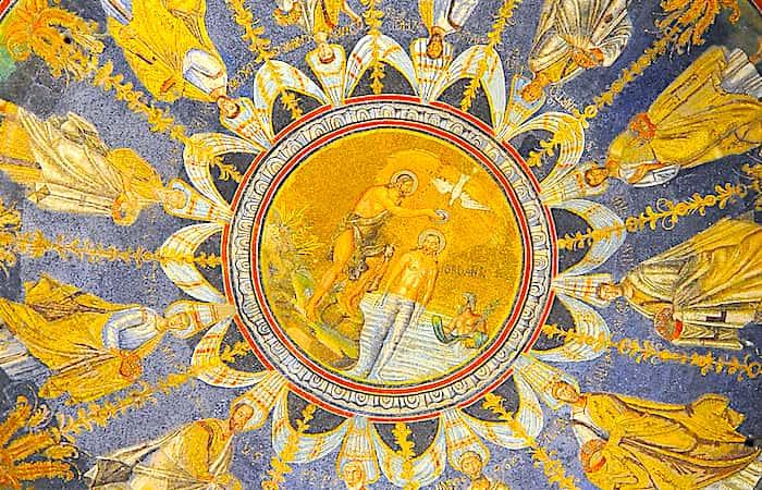 ネオニアーノ洗礼堂の天井画画像