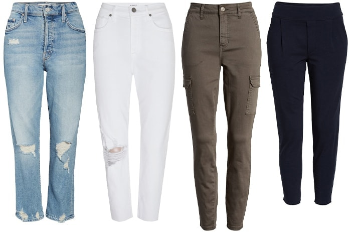 street style inspired jeans and pants | 40plusstyle.com