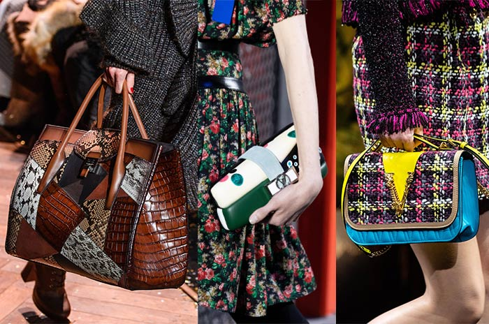 Bags with patchwork | 40plusstyle.com