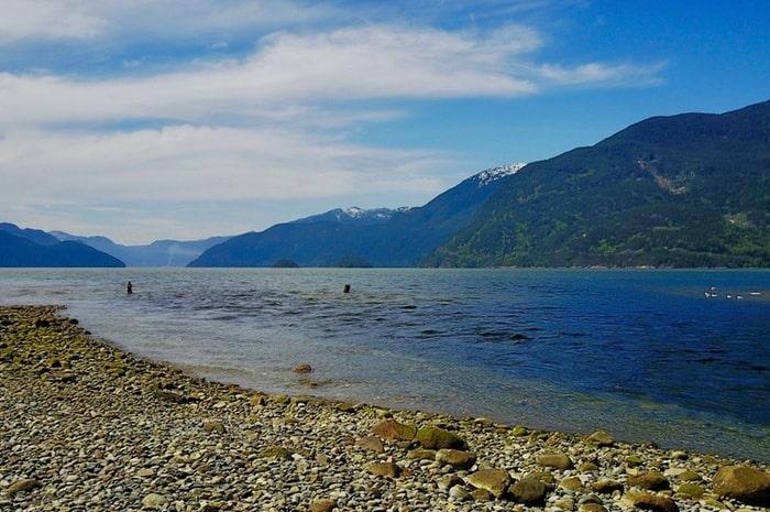 vancouver beach fishing