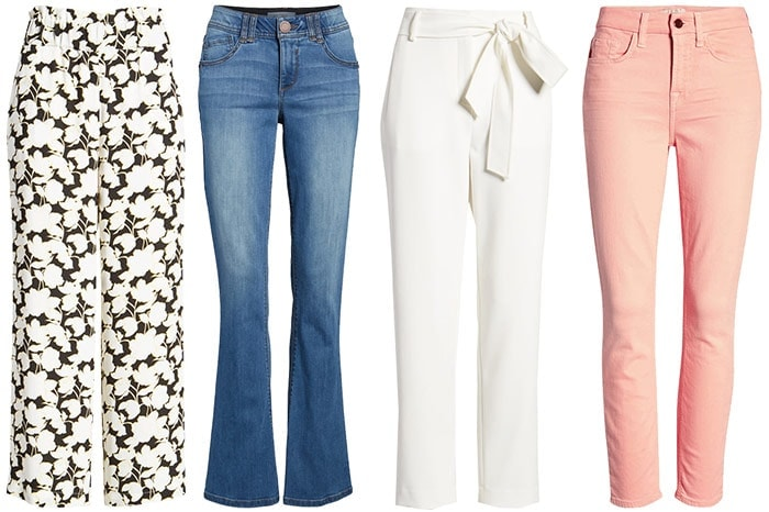 jeans and pants for the romantic style personality | 40plusstyle.com
