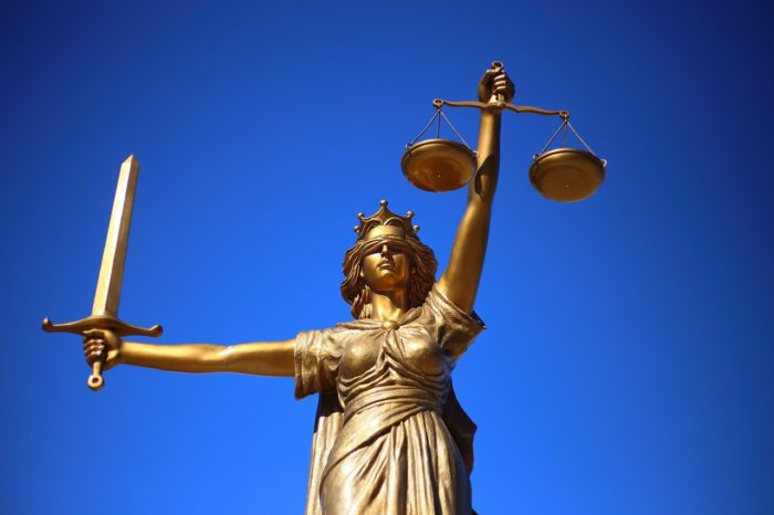 Justice Statue Lady Justice  - WilliamCho / Pixabay