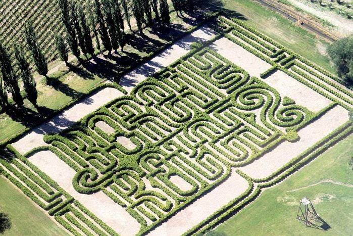Jardin Laberinto Jorge Luis Borges Los Alamos San Rafael Mendoza Argentina