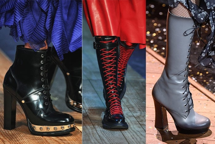 Lace-up boots for fall 2019 | 40plusstyle.com