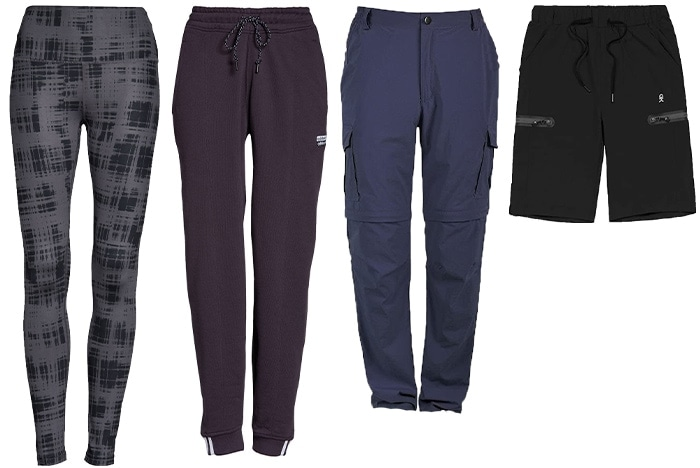 Hiking outfits for women - pants and leggings   40plusstyle.com