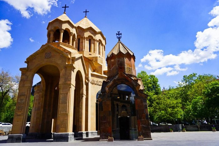 Holy Mother of God Kathoghike Church, Yerevan, Armenia
